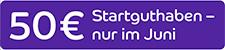 50 Euro Startbonus