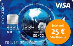 ics kreditkarte mit 25€ bonus