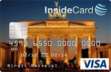 InsideCard Kreditkarte mit eigenem Motiv