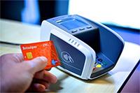 NFC-Kreditkarte