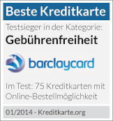 Testsieger Barclaycard New Visa