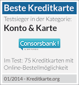 Testsiegel Consorsbank
