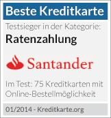 Testsieger Santander