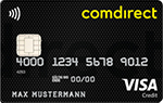 Comdirect Visa-Karte - Comdirect Bank