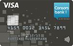 VISA Classic Karte - Consorsbank