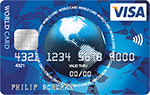 ICS VISA World Card - International Card Services