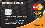 Money2Go Prepaid MasterCard - Novum Bank