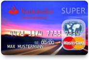 Super MasterCard von Santander