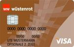 Wüstenrot Visa Gold Prepaid - Wüstenrot Bank
