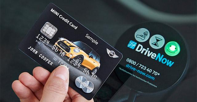 BMW MINI-Kreditkarte von MasterCard
