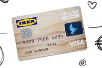 Bild der IKEA Visa Kreditkarte