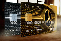 Mercedes benz kreditkarten mercedescard gold silber for Mercedes benz credit card review