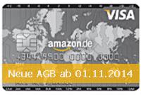 AGB Änderung bei Amazon Kreditkarte